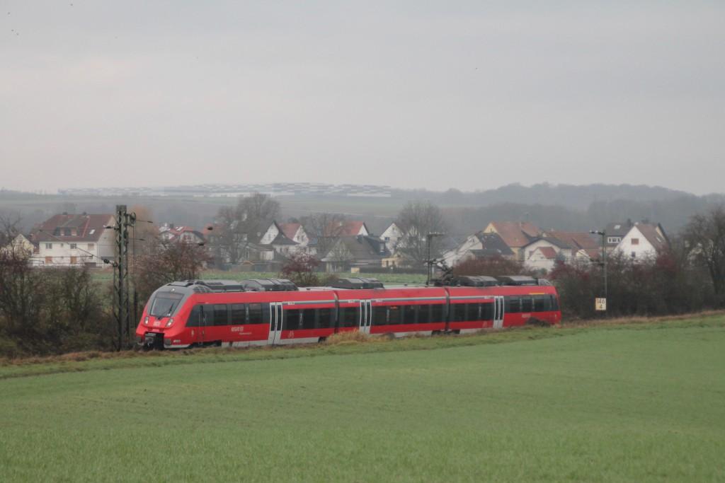 Ein TALENT 2 in den Feldern bei Kirch-Göns, aufgenommen am 06.12.2015.