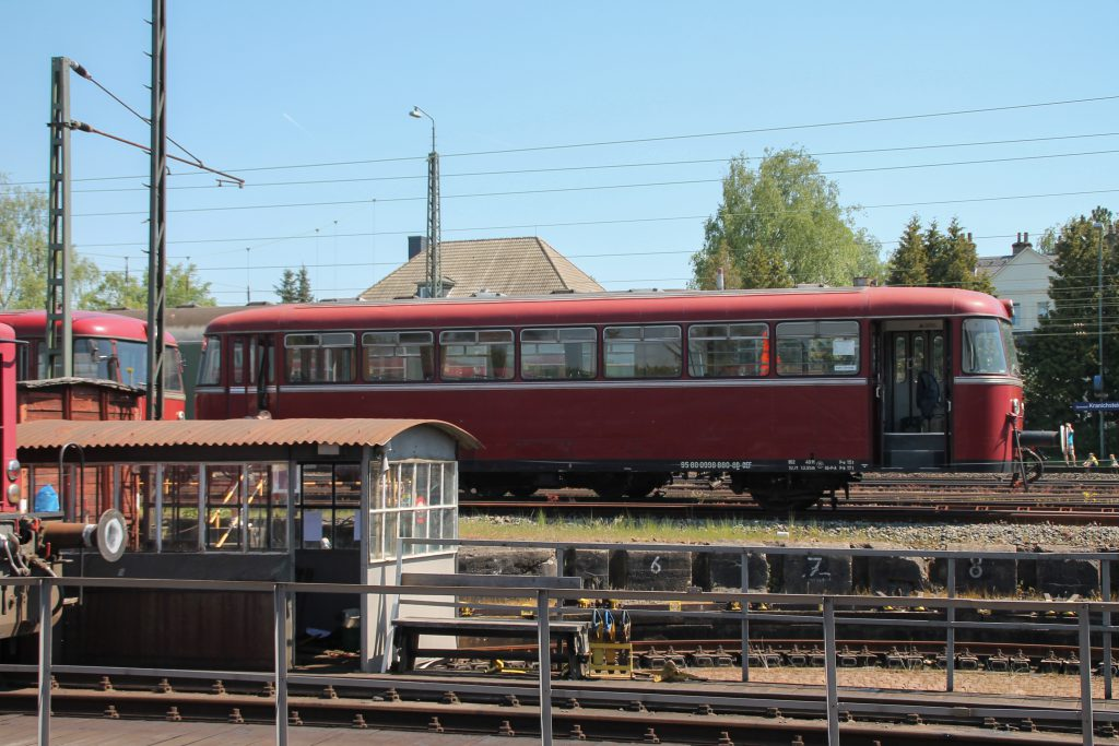 998 880 im Eisenbahnmuseum Darmstadt-Kranichstein, aufgenommen am 07.05.2016.