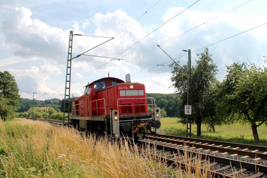 294 733 bei Dillheim auf der Dillstrecke, aufgenommen am 06.07.2016.