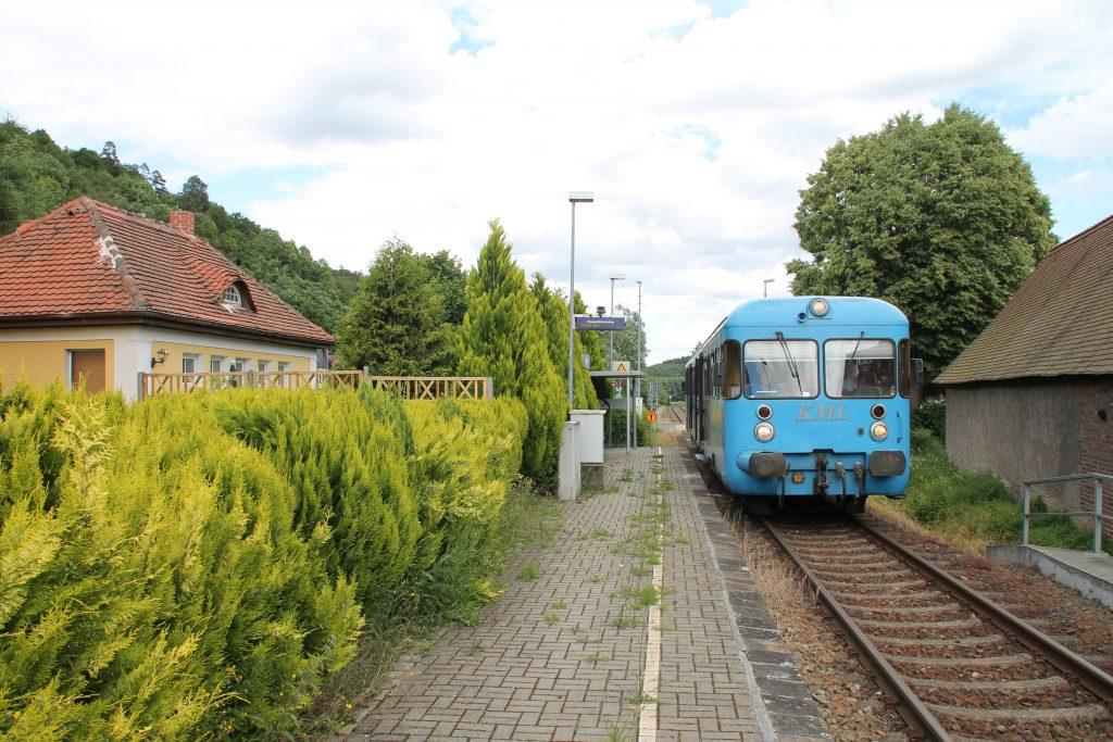 Die Wipperliese hält im Friesdorf, aufgenommen am 03.07.2016.
