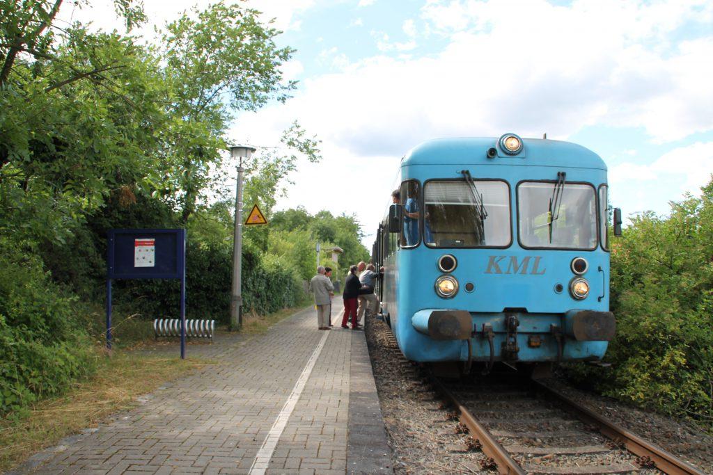Die Wipperliese hält in Vattenrode, aufgenommen am 03.07.2016.