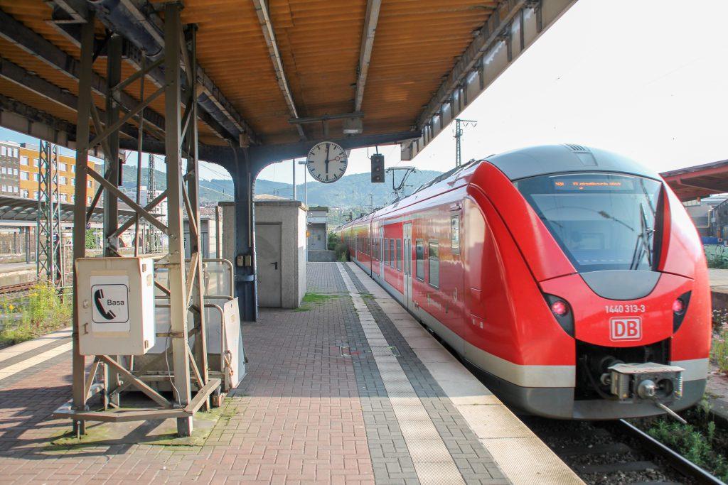 1440 313 verlässt Hagen Hbf, aufgenommen am 13.08.2016.