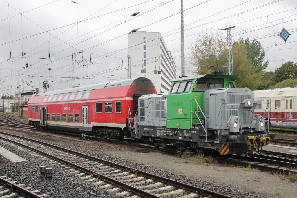 650 301 rangiert in Berlin-Lichtenberg, aufgenommen am 05.10.2016.