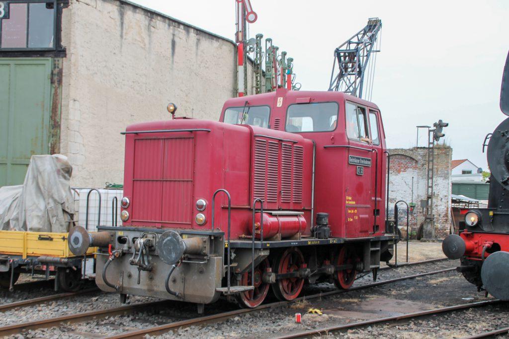 VL 12 steht im Eisenbahnmuseum in Darmstadt-Kranichstein, aufgenommen am 17.09.2016.