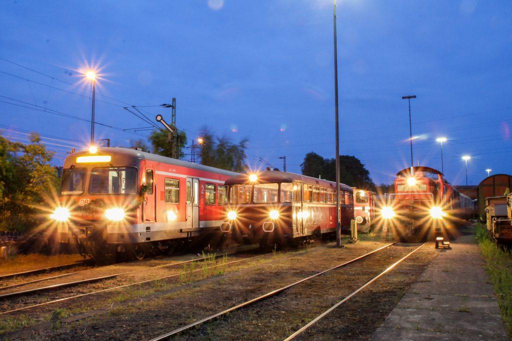 420 298, 798 829 und 294 585 stehen auf dem OEF-Gelände in Gießen, aufgenommen am 23.05.2015.
